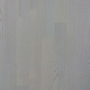 Паркетная доска Alster Wood Трёхполосная Дуб Селект бел.лак