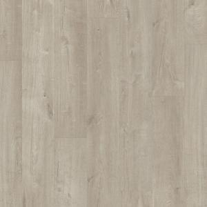 ПВХ плитка Quick-Step PUCL40105 Дуб Хлопковый Светло-Серый