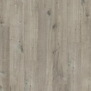 ПВХ плитка Quick-Step PUCL40106 Дуб хлопковый темно-серый