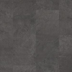 ПВХ плитка Quick-Step AMCL40035 Сланец черный
