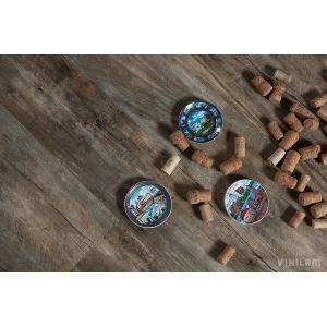 ПВХ плитка Vinilam Клик 4 мм Дуб Потсдам 6161-3