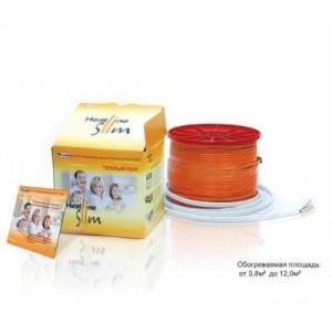 Heatline-SLIM теплый пол на катушке SL-1100 6,5-10,0м2
