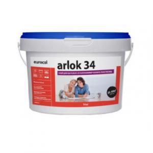 34 Клей Arlok 4 кг для бытового и полукоммерческого линолеума