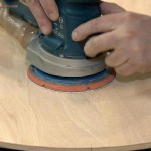 Шлифовка фанеры (включая стоимость абразивных материалов)