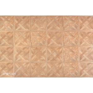 ПВХ плитка Vinilam 216515 Паркет кремовый