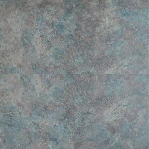 Кварцвиниловая плитка Wineo 800 TILE клеевой DB00099-1 Плитка темно-серая сплошная