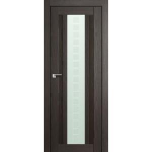 Дверь 16X Грей Мелинга стекло квадро