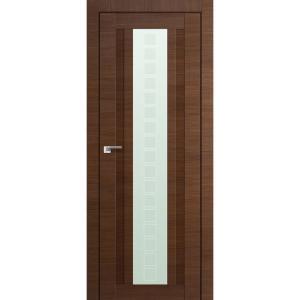 Дверь 16X Малага Черри Кроскут стекло квадро