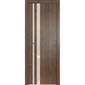 Дверь 16ZN Салинас Темный, стекло перламутровый лак, кромка ABS в цвет полотна с 4-х сторон