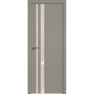 Дверь 16ZN Стоун, стекло перламутровый лак, кромка ABS в цвет полотна с 4-х сторон