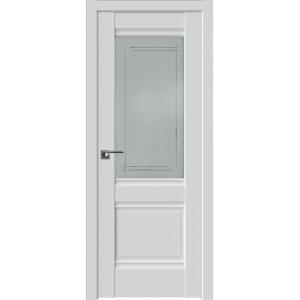 Дверь 2U Аляска стекло Мадрид