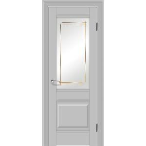 Дверь 2U Манхэттен стекло Мадрид