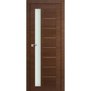 Дверь 37X Малага Черри Кроскут стекло матовое