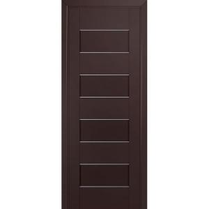 Дверь 45U Темно-коричневый матовый