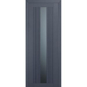 Дверь 53U Антрацит стекло графит