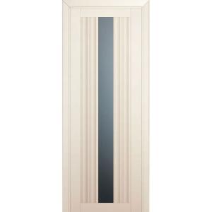 Дверь 53U Магнолия сатинат стекло графит