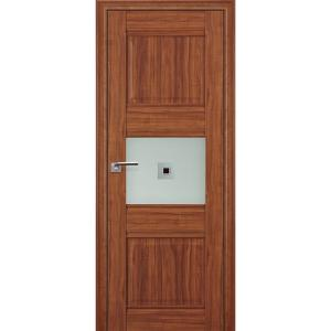 Дверь 5Х Орех Амари стекло узор1