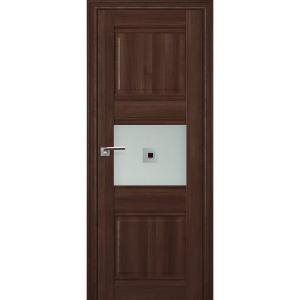 Дверь 5Х Орех Сиена стекло узор1