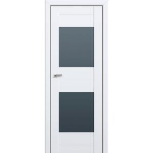 Дверь 61U Аляска стекло графит