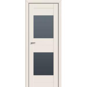 Дверь 61U Магнолия сатинат стекло графит