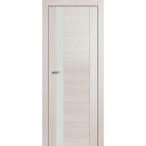 Дверь 62X Эш Вайт Мелинга стекло белый лак