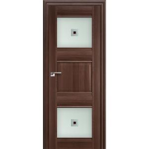 Дверь 6Х Орех Сиена стекло узор1