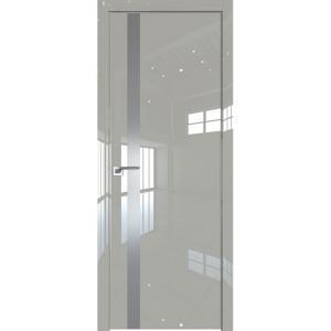 Дверь 6LK Галька Люкс, стекло серебро матлак, кромка ABS в цвет полотна с 4х сторон