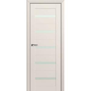 Дверь 7U Магнолия сатинат стекло матовое