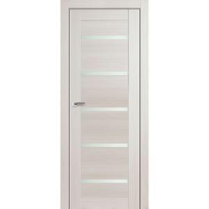 Дверь 7X Эш Вайт Мелинга стекло матовое