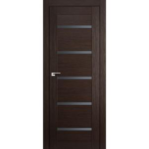 Дверь 7X Венге Мелинга стекло графит