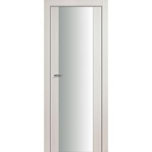 Дверь 8X Эш Вайт Мелинга стекло триплекс белый