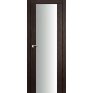 Дверь 8X Венге Мелинга стекло триплекс белый