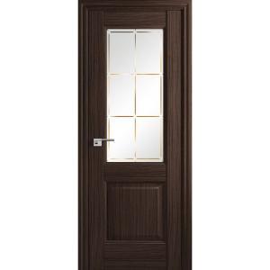 Дверь 90Х Натвуд Натинга ст. гравировка