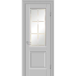 Дверь 90U Манхэттен стекло гравировка