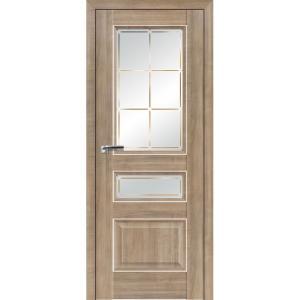 Дверь 94ХN Салинас светлый, стекло гравировка