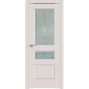 Дверь 94U ДаркВайт стекло гравировка