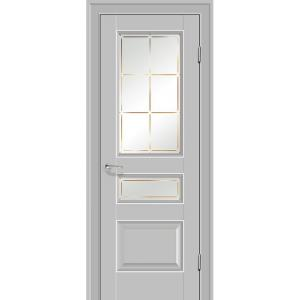 Дверь 94U Манхэттен стекло гравировка