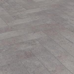 Ламинат Kronotex Herringbone Pesaro Cement D4739